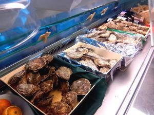 vitrina de ostras