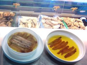 salazones y ostras